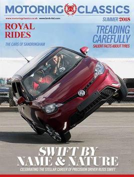 Motoring Classics Magazine poster