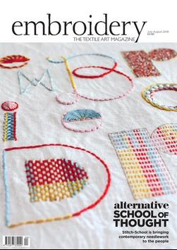 Embroidery Magazine poster
