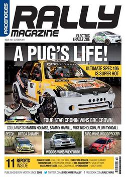 Pacenotes Rally Magazine poster