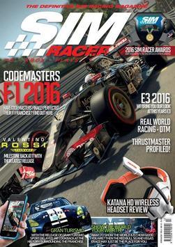 Sim Racer Magazine poster