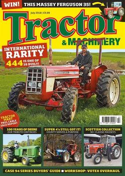 Tractor & Machinery poster