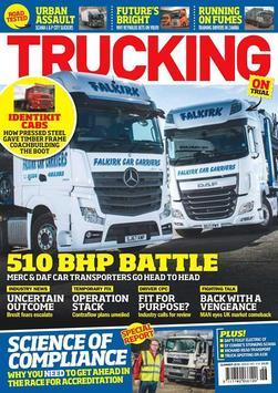 Trucking Magazine poster