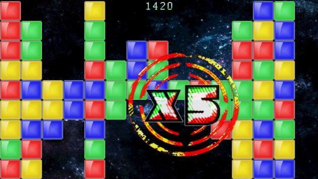 Colored Blocks... In Space! apk screenshot