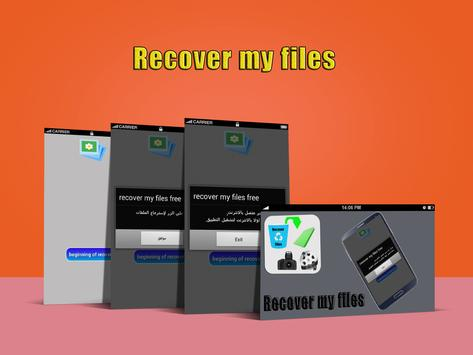 recover my files prank free poster
