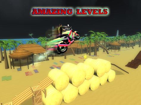 Moto Rider 🏍 Stunt Race 3D apk screenshot