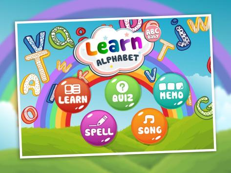Kids Learn Alphabet ABC Baby screenshot 5