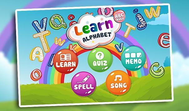 Kids Learn Alphabet ABC Baby screenshot 10
