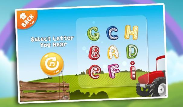 Kids Learn Alphabet ABC Baby screenshot 12
