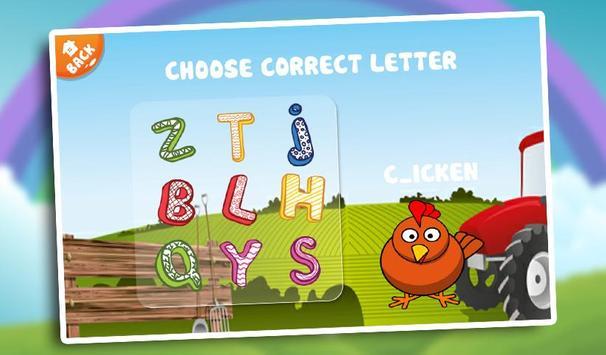 Kids Learn Alphabet ABC Baby screenshot 14