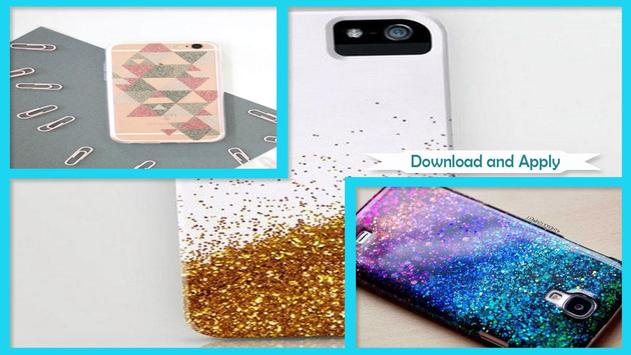 Easy DIY Glitter Phone Case screenshot 1