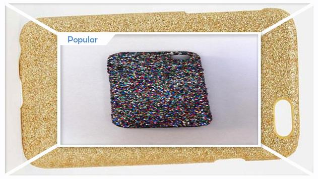 Easy DIY Glitter Phone Case screenshot 2
