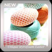 Unique Styrofoam Easter Eggs icon