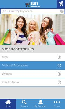 ElitemCommerce apk screenshot