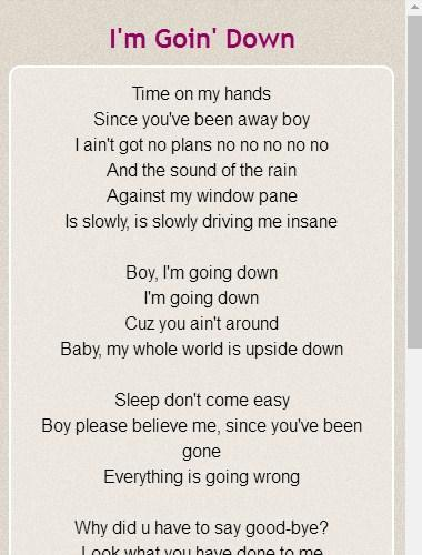 Mary J Blige Lyrics For Android Apk Download