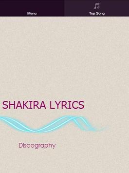 All Shakira Lyrics poster
