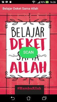 Belajar Deket Sama Allah poster
