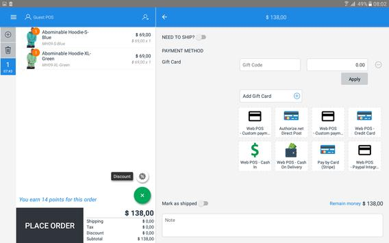 Retailer POS - POS for Magento apk screenshot