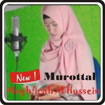 maghfirah hussein - surah al waqiah mp3 poster