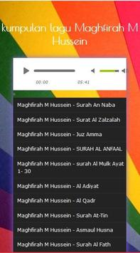 maghfirah hussein - surah al waqiah mp3 screenshot 1