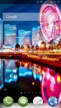 City Lights Live Wallpaper poster