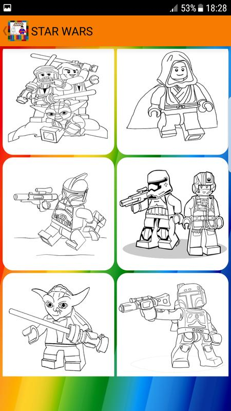 Libro para colorear Super Legos Descarga APK - Gratis Educativos ...