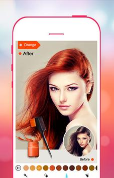 Hair Color Changer screenshot 3