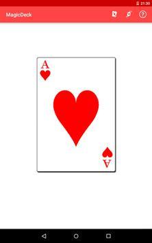 MagicDeck: Card Tricks 截圖 4