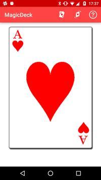 MagicDeck: Card Tricks 截圖 1