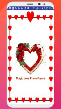 Magic Love Photo Frame poster