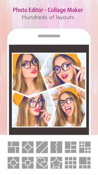 J Selfie Camera - Photo Collage & Youcam Editor poster
