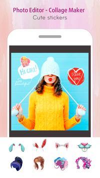 J Selfie Camera - Photo Collage & Youcam Editor screenshot 1