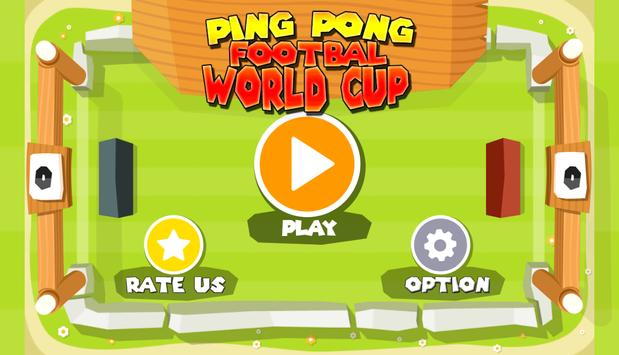 Ping Pong Football World Cup poster