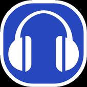 Blue Copyleft Mp3 Downloader icon