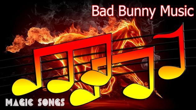 Bad Bunny Musica 2018 poster