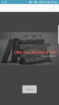 CBSE Notes and Results poster
