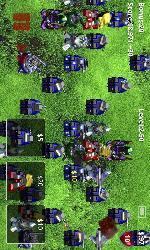 Robo defense game for pc.