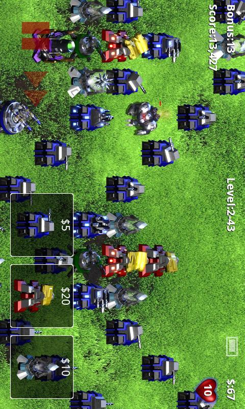 Android app: robo defense v2. 0. 8 android apk game download (2. 0. 8).