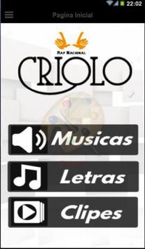 Criolo poster