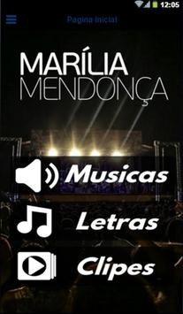 Marília Mendonça poster