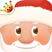 Coloring book - Christmas icon
