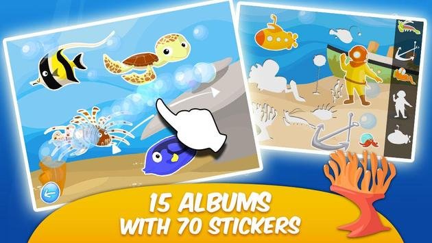 Ocean II - Stickers and Colors apk screenshot