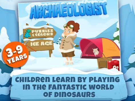 Archaeologist - Dinosaur Games apk screenshot