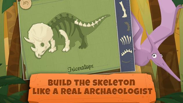 Dinosaurs for kids : Archaeologist - Jurassic Life apk screenshot
