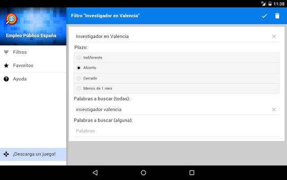 Empleo Público España apk screenshot