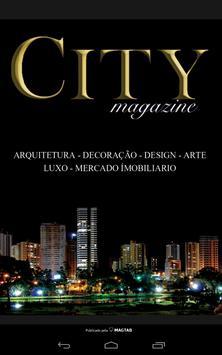 CITY MAGAZINE poster