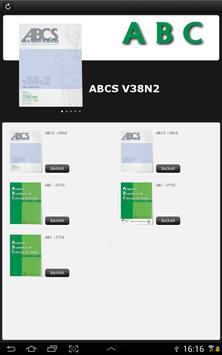 Revista ABCS screenshot 1