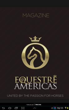 Equestre Americas Magazine poster