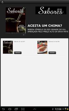 Revista Sabores do Sul apk screenshot