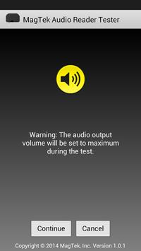MagTek Audio Reader Tester apk screenshot