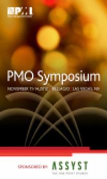PMI PMO Symposium 2012 poster